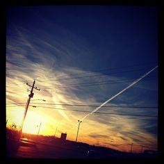 Rosedale Road, Port Allen #louisiana #sunset #westbatonrouge #portallen