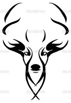Deer stencil | hUnTinG. | Pinterest