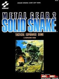 Metal Gear 2: Solid Snake (Metal Gear Solid HD Collection)