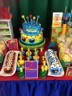 Sesame Street Birthday Party Ideas   Photo 3 of 17   Catch My Party