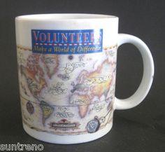 Volunteers Make a World of Difference 10 oz Ceramic Coffee Mug