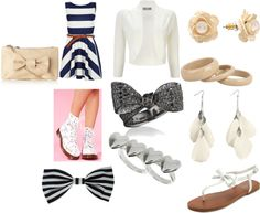 """""""stripes"""" by lo-lo99 on Polyvore"""