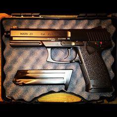 My new Heckler & Koch Mark 23