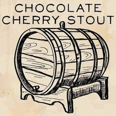 """A Homebrewers' Guide to brewing """"I Want Candy"""" (A Chocolate covered Cherry Stout brewed by Errica Cook. Homebrewing Recipe: Chocolate Cherry Stout"""