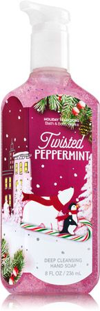 Twisted Peppermint Deep Cleansing Hand Soap - Soap/Sanitizer - Bath & Body Works