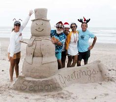 SOB Pics:Holiday Themed Sand Sculpture 2003