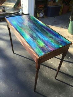 Best representation descriptions: Unicorn Spit Stain Furniture Related searches: Unicorn Spit On Glass,Logo Unicorn Spit Gel Stain,Unicorn . Refurbished Furniture, Repurposed Furniture, Furniture Makeover, Painted Furniture, Diy Furniture, Unicorn Spit Stain, Glass Fish Bowl, Unicorn Painting, Benches For Sale