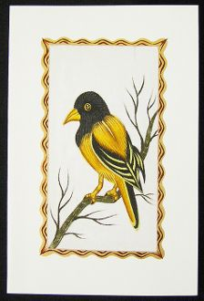 34 best greeting cards images on pinterest greeting cards handmade hand painted greeting card yellow oriole m4hsunfo