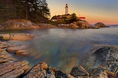 Point Atkinson Lighthouse Park Vancouver BC Canada