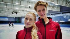 Nikolas Wamsteeker and Haley Sales aim to one day match the gold medal-winning heights reached by their heroes. One Day Match, Virtue And Moir, Figure Skating, British Columbia, Dancers, Skate, Windbreaker, Leather Jacket, Ice