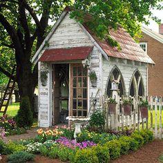 You Decide: Garden Shed or Backyard Retreat