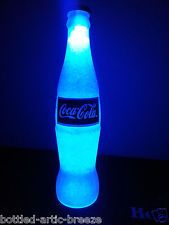 glass bottle with neon - Google Search