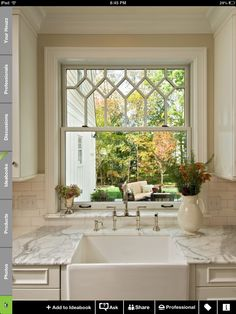 Love the sink and the window