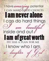 Affirmations: Who I Am in Christ