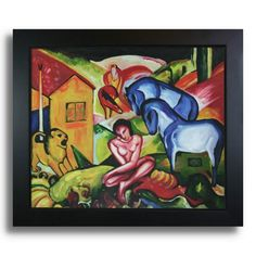 Find it at the Foundary - Franz Marc - The Dream Hand Painted Oil on Canvas