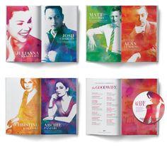 The Good Wife 2014 Emmy Campaign // Ty Mattson Creative / poster / advertisement / brochure / magazine / watercolor key art / birght colors / beautiful design