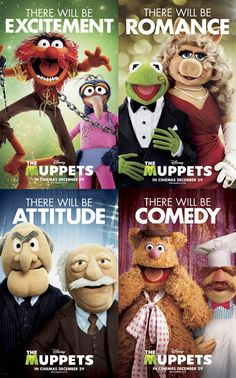 Muppets- my obsession. My husband being a Christian is my #1 requirement. Understanding my muppet obsession comes in at #2 :)