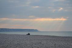Yport Normandië Frankrijk april 2013