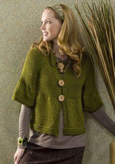 Free Knitting Pattern - Women's Jackets & Outerwear: Carmel Jacket