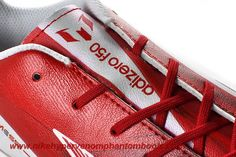 Discounts White Red Adidas F10 TRX IC
