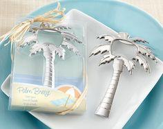 Palm Breeze Chrome Palm Tree Bottle Opener.
