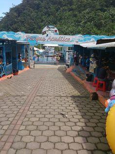 Parque Acuático, Balsapamba, Prov. Bolivar - Ecuador