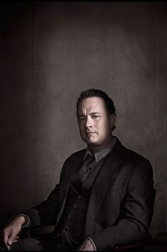 Tom Hanks [Time magazine - March 2010]. Male actor, portrait, shadow, photo