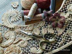 Crochet pattern online shop. Irish Crochet Lab.