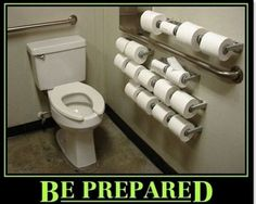 be prepared :) humor is a survival skill! But the bathroom needs to be cleaner!