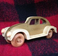 Classic Volkswagen VW Beetle Bug Updated by PuzzlesnToysnWood