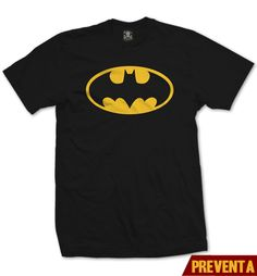 """Playera Batman Logo""  Vato disponible en www.kingmonster.com.mx"