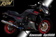 Planet Japan Blog: Kawasaki GPZ 900 R by Technical Garage Run