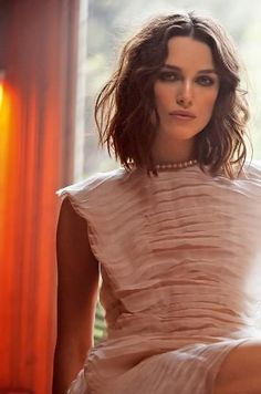 Keira Knightley. She is so beautiful!!