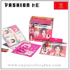 fashion design sketch portfolio   Item: fashion design sketch portfolio   Item No: FMBO03   Size:    24*26 cm for A4                   15*21 cm for A5    any size under customer's requirements   Printing: offset printing    Design: we have more than 20 designs of the coloring book by us             OEM is welcome