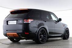 Used Land Rover Range Rover Sport SDV6 HSE DYNAMIC PROJECT KAHN BLACK LABEL VESUVIUS EDITION Black for sale Essex KY64EKE   Saxton 4x4