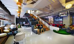 CREATIVE OFFICES! Ogilvy & Mather office by M Moser Associates, Jakarta store design