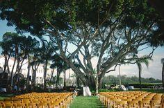 pretty outside wedding idea