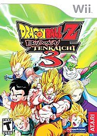Wii Dragon Ball Z Budokai Tenkaichi 3