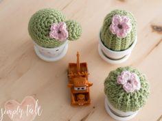 Free Crochet cactus pattern, cactus, crochet, cactus crochet pattern, amigurumi, succulent
