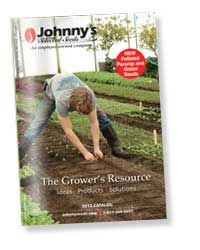 2013 catalog not out yet.    Johnny's Selected Seeds – Superior Seeds & Gardening Tools