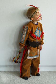 Kostüme für Kinder - Indianer Kostüm 8-9 Jahre, Yakari, Cowboy, ... - ein Designerstück von maii-berlin bei DaWanda