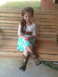Super cute lil Cowgirl outfit