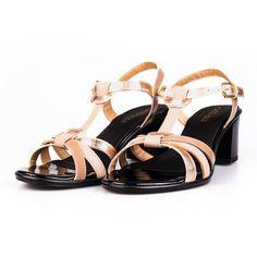 Sandale elegante din piele naturala- Ada Bej Lac Shoes, Fashion, Moda, Shoes Outlet, Fashion Styles, Shoe, Footwear, Zapatos, Fashion Illustrations
