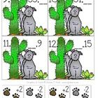 Coyote Count by Twos asks students to add two to numbers 0-100 and take away two from numbers 0-100.  The numbers are both odd and even.  There are...