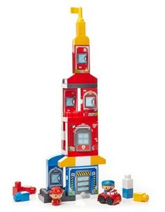 71fc79e154a20f Mega Bloks First Builders Rescue Squad Building Set Only  14.25
