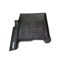 Single 1st Row Hook SMARTLINER Custom Floor Mats 1st Row Liner Set Black for 2009-2012 Dodge Ram Standard Cab or Quad Cab