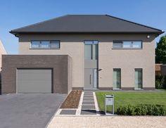 Facade, Garage Doors, House Design, Outdoor Decor, Houses, Inspiration, Future, Decoration, Home Decor