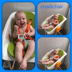 Charlichair is the solution a mum of three developed after the challenges of bathing her own baby. Baby Shower Chair, Sore Knees, Babies R Us, Bassinet, Little Ones, How To Find Out, Website, Happy, Check