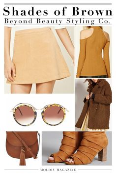 Shades of Brown for the fall season! Beyond Beauty Styling Co