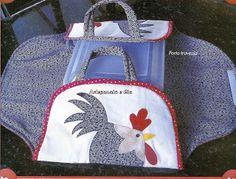 Artesanato e Cia : Porta travessa em tecido - molde
